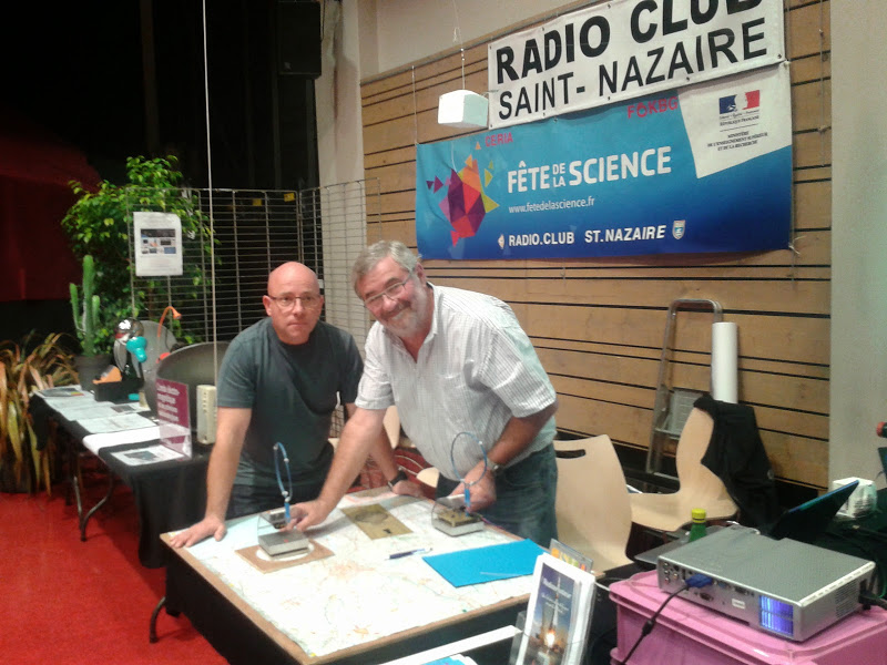 c ria radio club de saint nazaire f6kbg f te de la science 2014. Black Bedroom Furniture Sets. Home Design Ideas