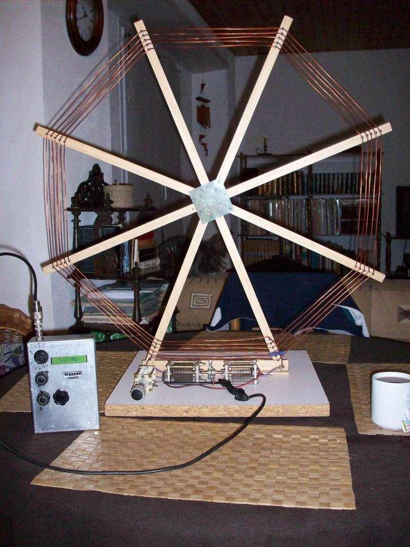 antenne cadre octogonale bandes basses